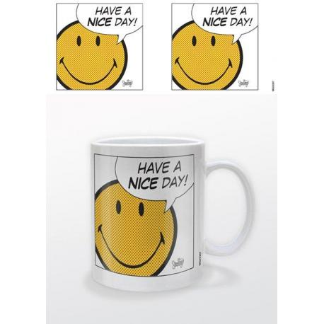 Taza Smiley - have a nice day