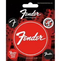 Pack de pegatinas de vinilo Fender