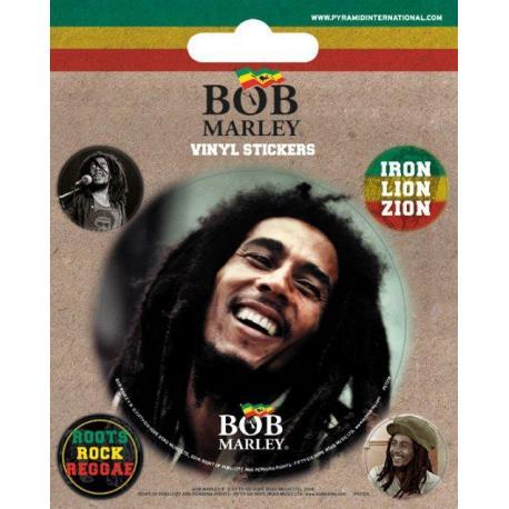 Pack de pegatinas de vinilo Bob Marley