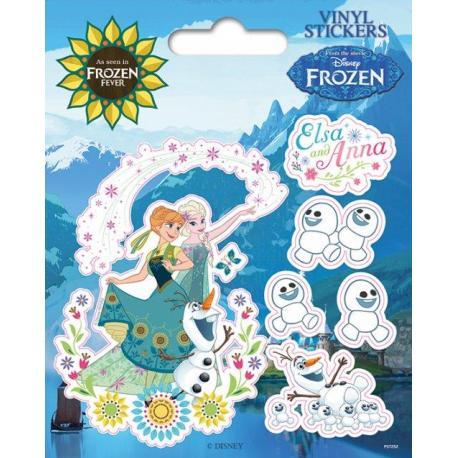 Pack de pegatinas de vinilo Frozen Fever