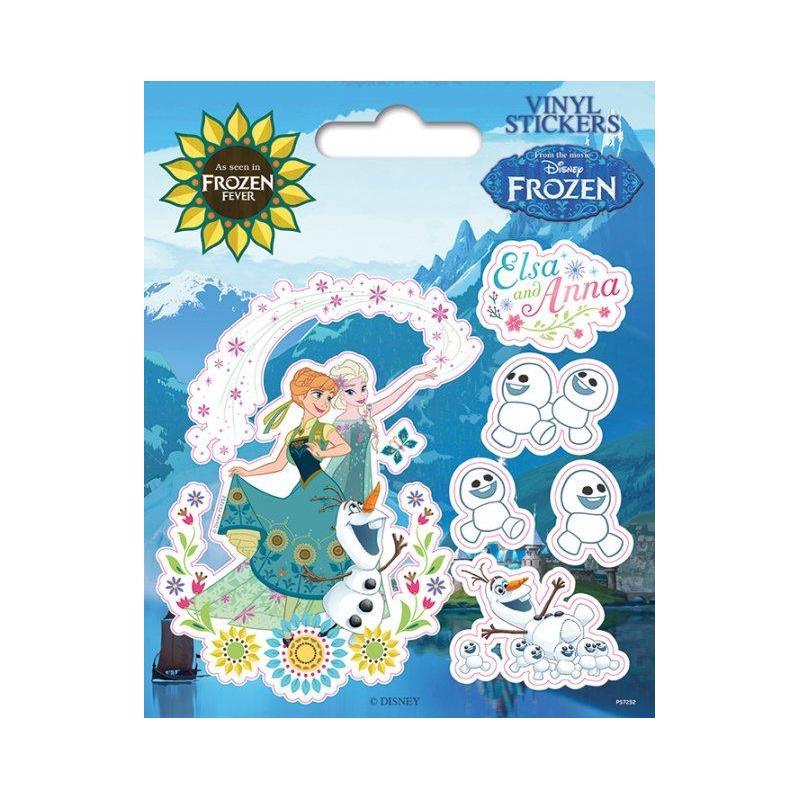 Disfruta del nuevo pack de pegatinas de vinilo frozen for Pegatinas de vinilo