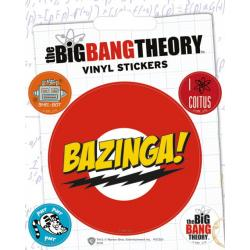 Pack de pegatinas de vinilo Big Bang Theory