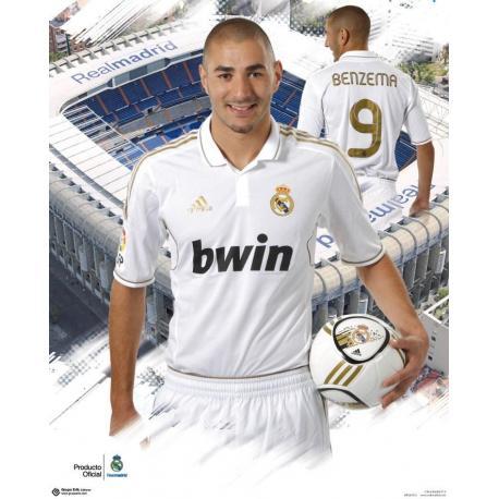 Miniposter Real Madrid Benzema 2011-2012