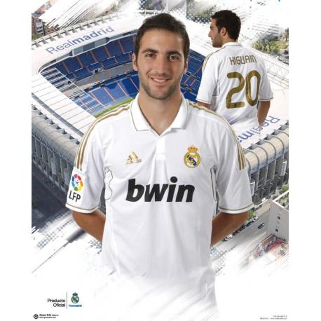 Miniposter Real Madrid Higuain 2011-2012