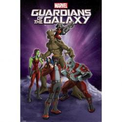Poster Guardian of the Galaxy grupo