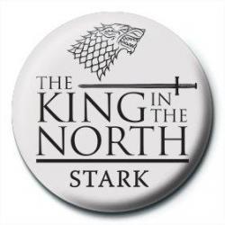 Chapa Juego de tronos Stark rey del norte