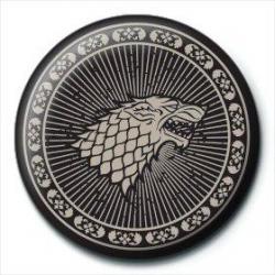 Chapa Juego de tronos Stark