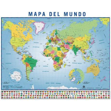 Miniposter Mapa Del Mundo