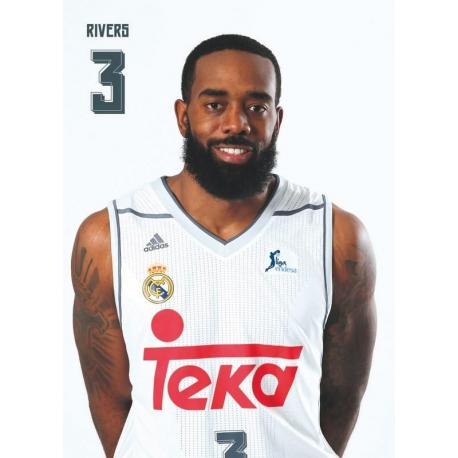Postal Real Madrid Baloncesto 2015/2016 Rivers