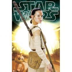 Poster Star Wars VII Rey