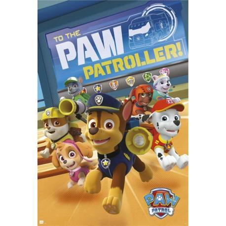 Poster La patrulla canina patrullando