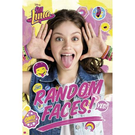 Poster Soy Luna Caras