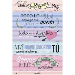 Poster frases motivacionales