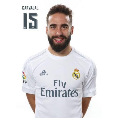 PostalReal Madrid 2015/2016 Carvajal