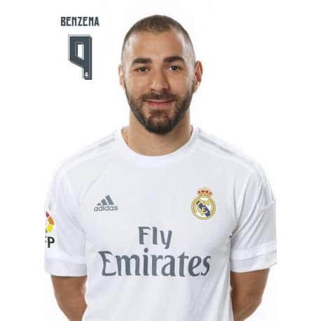 PostalReal Madrid 2015/2016 Benzema