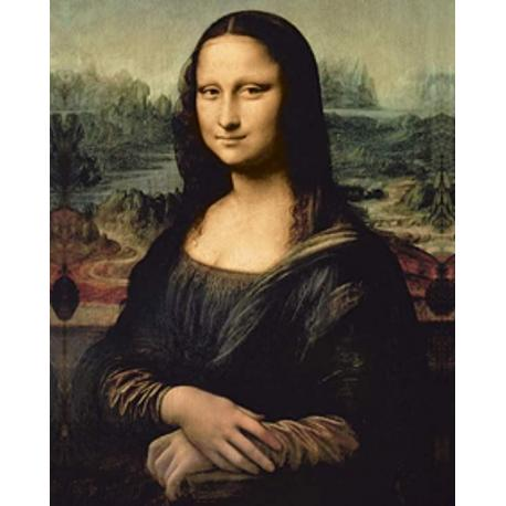 Miniposter Leonardo Da Vinci Mona Lisa