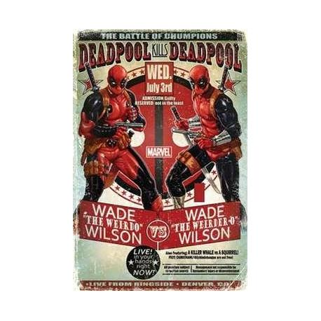 Poster Deadpool Wade vs Wade