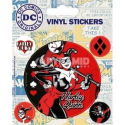 Pegatina Vinilo- DC Originales (Harley Quinn)