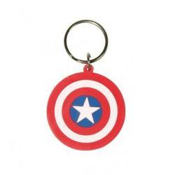 Llavero Marvel Escudo del Capitán América