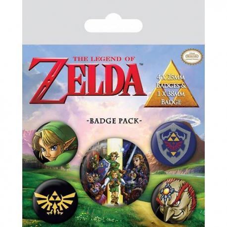 Pack de Chapas La Leyenda de Zelda