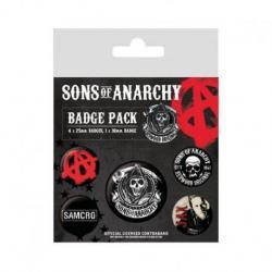 Pack de Chapas Sons of Anarchy