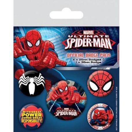 Pack de Chapas Spiderman