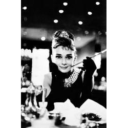 Poster Audrey Hepburn Desayunando