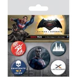 Pack de Chapas Batman V Superman