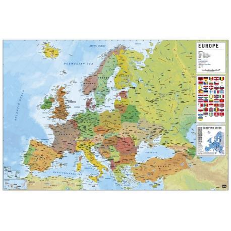 Poster Europe Map