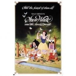Poster Walt Disney Blanca Nieves