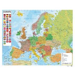 Mini Poster Mapa De Europa