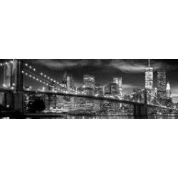 Poster Puerta Nueva York Blanco y Negro