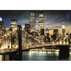 Poster Gigante Nueva York Luces de Manhattan