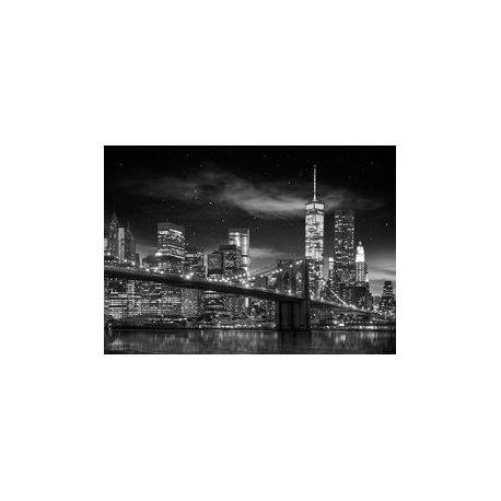 Poster Gigante Nueva York Blanco y Negro