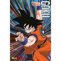 Poster Dragon Ball Z Salto Goku