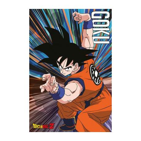 Poster Dragon Ball Z Salto Goku