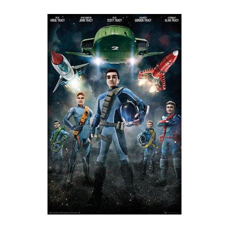 Poster Thunderbirds Are Go Grupo
