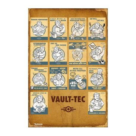 Poster Fallout 4 VaultTec