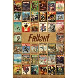 Poster Fallout 4 Mix de Revistas