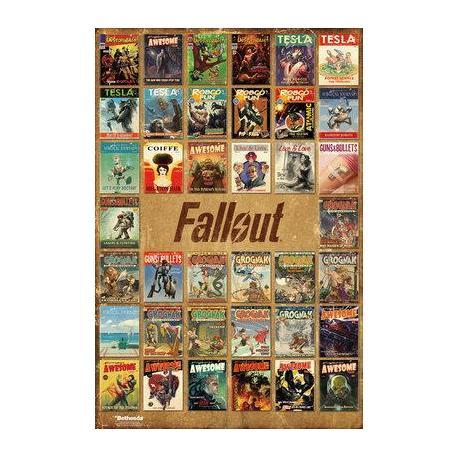 Poster Fallout 4 Mix de Revistas