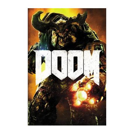Poster Doom Cyber Demonio