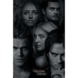 Poster Diarios de Vampiros Caras