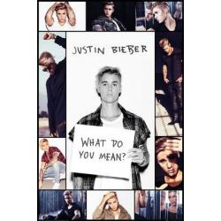 Poster Justin Bieber What Do You Mean