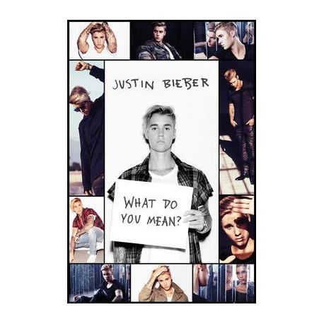 Poster de Música Justin Bieber What Do You Mean