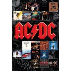 Poster AC/DC Portadas