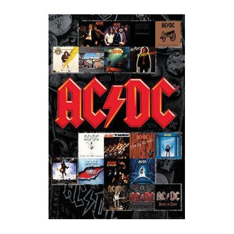 Poster de Música AC/DC Portadas
