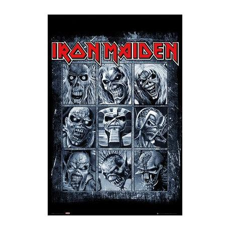 Poster Iron Maiden Eddies