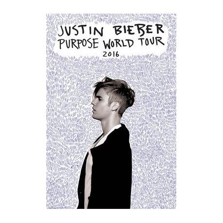 Poster de Música Justin Bieber Purpose World Tour