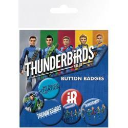 Pack de Chapas Thunderbirds Are Go