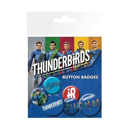 Pack de Chapas Thunderbirds Are Go